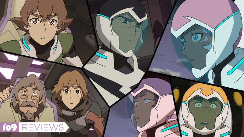 Team Voltron (as well as Pidge's father and brother in the bottom left) face some big new trials in Legendary Defender's fifth season.