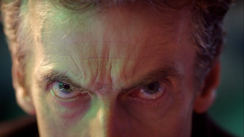 Illustration for article titled That moment you just know Peter Capaldi is going to own The Doctor