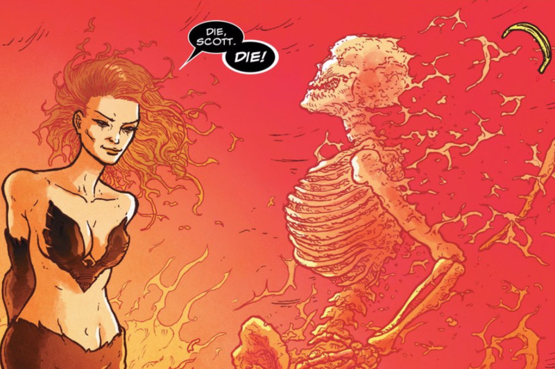 Illustration for article titled This X-Men Comic Might Be the Bleakest Dark Phoenix Story Ever