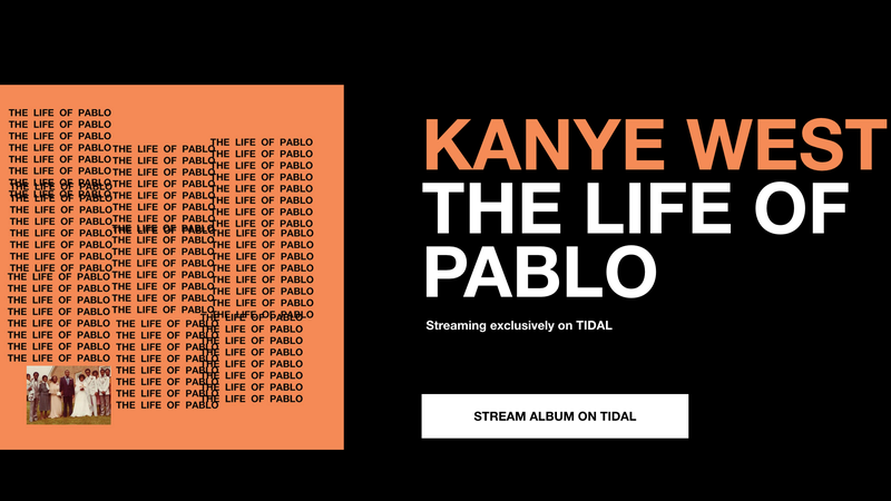 Illustration for article titled Heartless!Kanye Posts Pablo Track to Apple Music After All