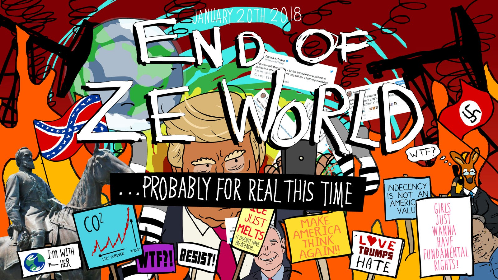 Here's the Sequel to 'End of Ze World,' the First Viral Video Ever