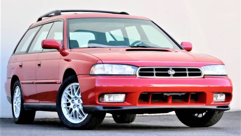 At $8,997, Will This 1997 Subaru Legacy GT Wagon Leave a Lasting Impression?