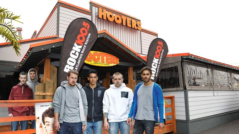 Illustration for article titled Heartwarming: When This Local Hooters Was About To Go Out Of Business, The Skeeviest Fucking Guys Imaginable Came Together To Save It