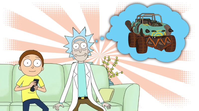 Illustration for article titled The Cars Of Rick And Morty, Scrutinized