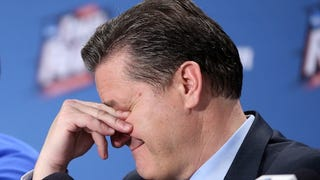 Report: Increasingly Desperate Kings Are Trying To Lure John Calipari