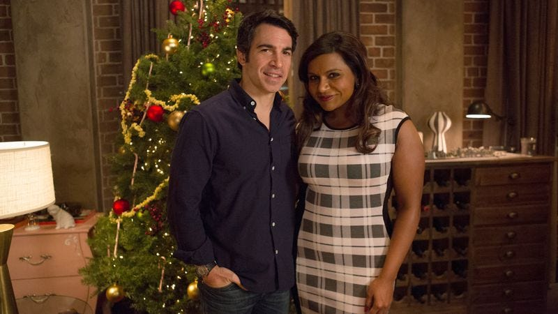 "Illustration for article titled The Mindy Project: ""Christmas"""