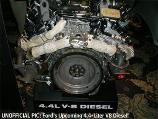 ford      diesel engine  leaked