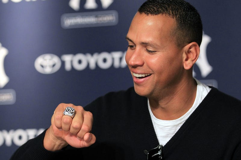 Illustration for article titled Alex Rodriguez's True Yankee-Hood Up For Sale Monday Morning