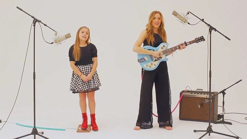 Illustration for article titled Nashville's Lennon and Maisy covered Charli XCX