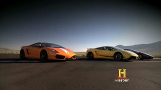 Illustration for article titled New Top Gear USA Clip Shows Trio Racing Lamborghinis