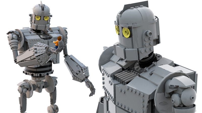 Illustration for article titled If Lego Doesn't Make This Iron Giant Set, It's Going to Be Sadder Than the Movie