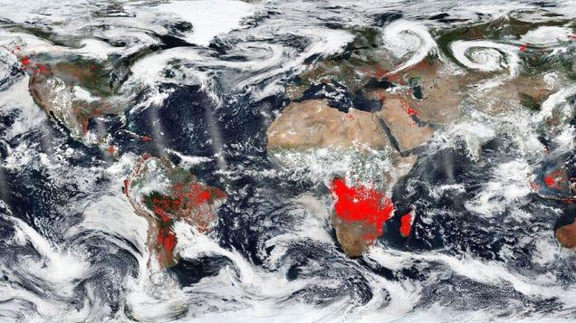 Earth Is On Fire. It s Always on Fire