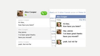 Illustration for article titled Skype Now Lets You Chat With Facebook Friends and See Your Wall