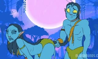 Illustration for article titled The Last Avatar Porn Video We'll Ever Post — Maybe [NSFW]