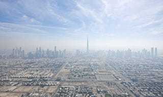 Illustration for article titled This the Amazing Present and the Crazy Future of Dubai's Skyline