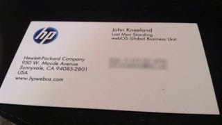 Illustration for article titled Here Is the Absolute Saddest Business Card in the World