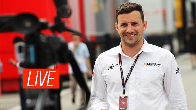 Illustration for article titled Ask NBC Sports Ace F1 Journo Will Buxton Anything