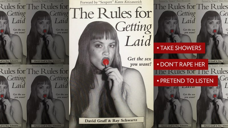 Illustration for article titled The Rules for Getting Laid: The Most Hilarious Self-Help Sex Book Ever