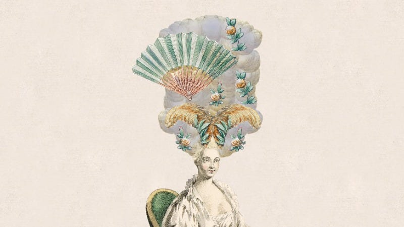 Illustration for article titled Blow Your Entire Afternoon Designing Elaborate 18th Century Wigs