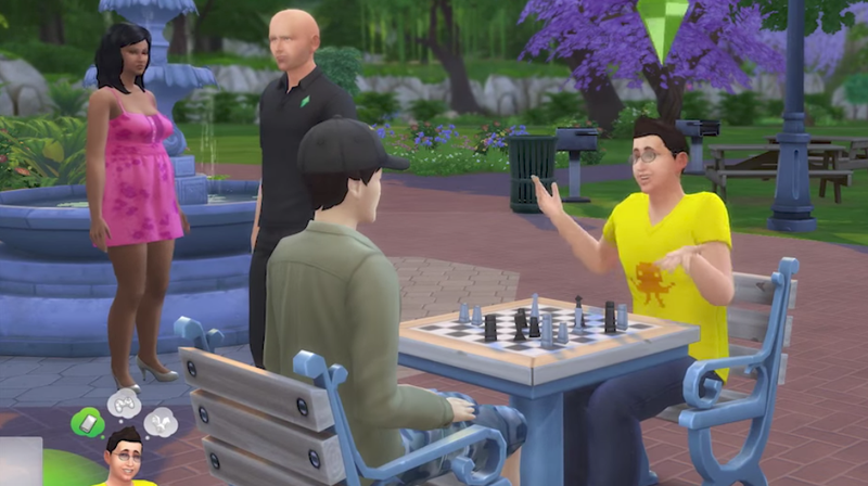 Illustration for article titled Sims Will No Longer Weed Chess Tables, And Other Great Sims 4Patch Notes