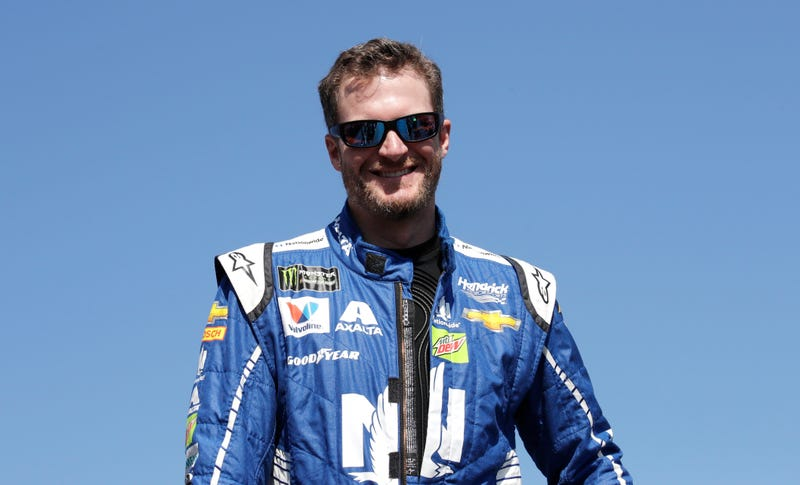 Dale Earnhardt Jr. on Sunday in New Hampshire. Image: AP