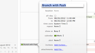 """Illustration for article titled Use Phrases Like """"Lunch,"""" """"Brunch,"""" and """"Breakfast"""" to Auto-Schedule Appointments in iCal"""