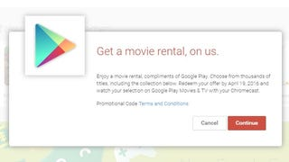 Free Google Play Movie Rental For Chromecast Owners (US only)