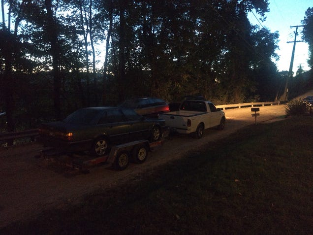 2 Fords, 2 Audis, 2 drivers, 2 days.