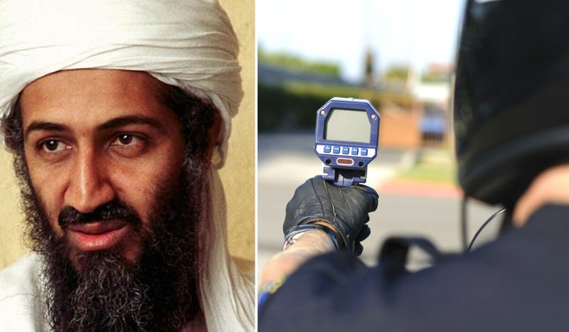 Illustration for article titled Osama Bin Laden Was Pulled Over For Speeding In 2002 Or 2003