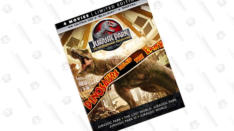 Jurassic Park 25th Anniversary Collection [Blu-ray] | $35 | Amazon