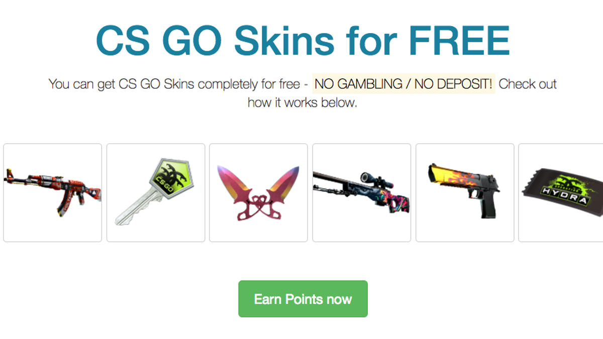 The 'Free' CS:GO Skin Industry Is Booming, Following Gambling Crackdown
