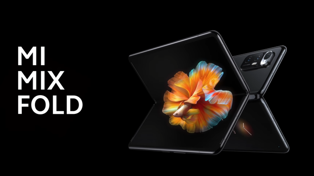 Xiaomi Challenges Samsung With Its Own Foldable, the $1,500 Mi Mix Fold