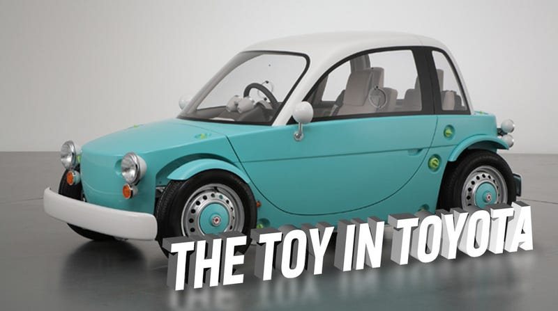 Toyota Builds A Real Car Kids Can Drive