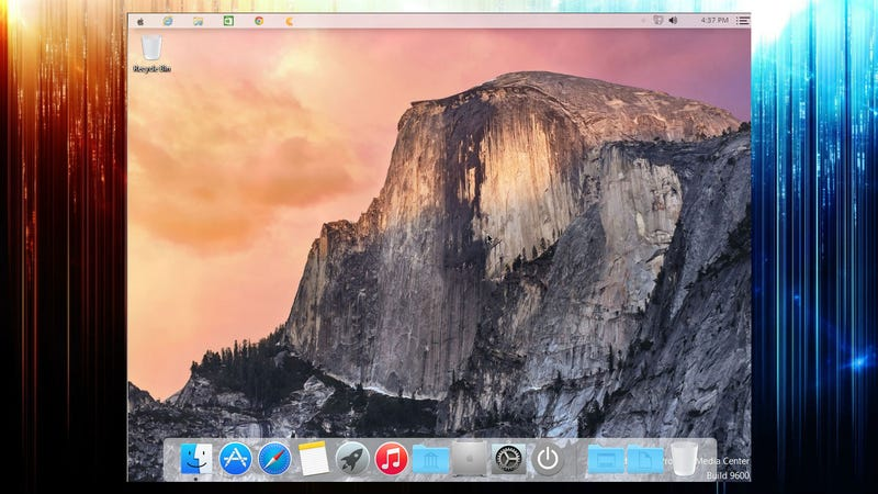 Illustration for article titled Yosemite Transformation Pack Makes Your Windows Desktop Look Like OS X
