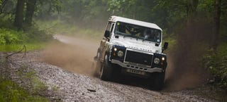 Illustration for article titled The First Land Rover Rally Series Trophy Is Still Anyone's Grab