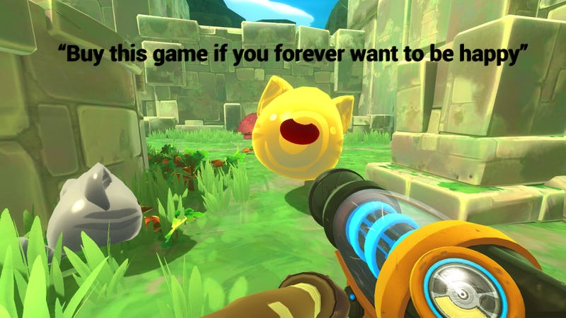 Illustration for article titled Slime Rancher, As Told By Steam Reviews