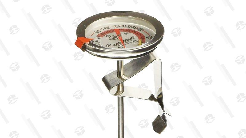 King Kooker SI5 5-Inch Deep Fry Thermometer | $4 | Amazon