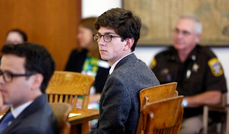Illustration for article titled Owen Labrie Is Out of Jail, Where He Had an Epiphany About How 'Privileged' He Is