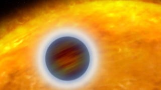 Illustration for article titled Scorching hot new exoplanet has higher temperature than some stars