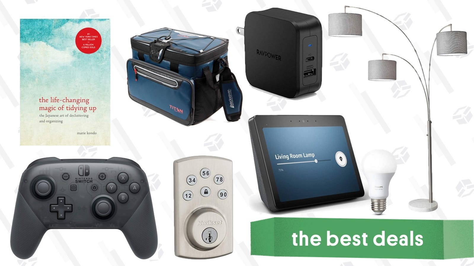 The Best Easter Sunday Deals: Marie Kondo's Book, Fancy Lamps, USB-C Chargers, and More