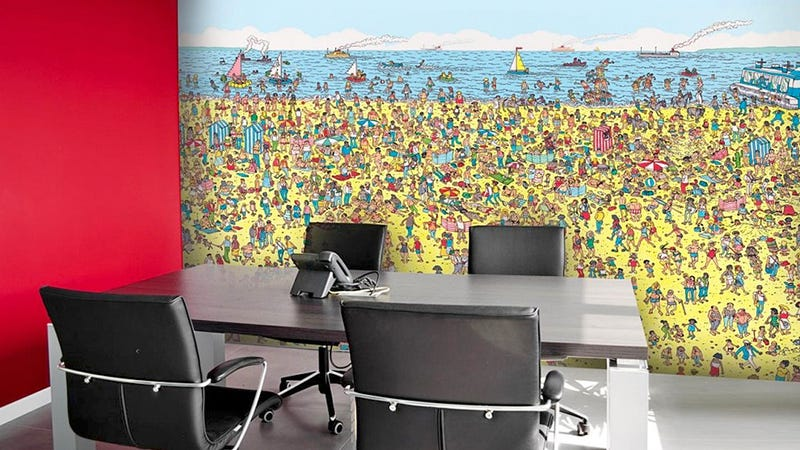 Illustration for article titled Where's Waldo Wallpaper Is the Best Work Distraction