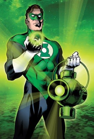 Illustration for article titled 10 things we discovered about Green Lantern at Comic Con today!