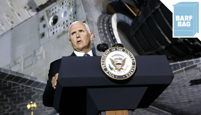 Illustration for article titled Space Pence Is Ready to Do Space Force