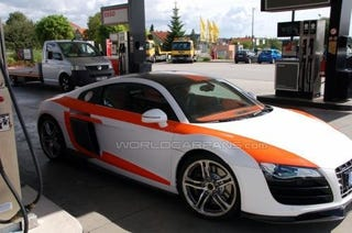 Illustration for article titled Correction: This Is NOT The Audi R8 GT RS