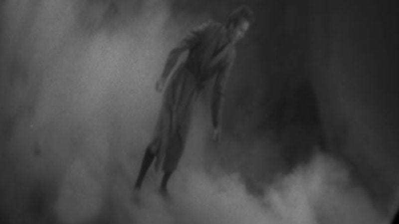 """Illustration for article titled The Twilight Zone: """"The Fugitive""""/""""Little Girl Lost"""""""