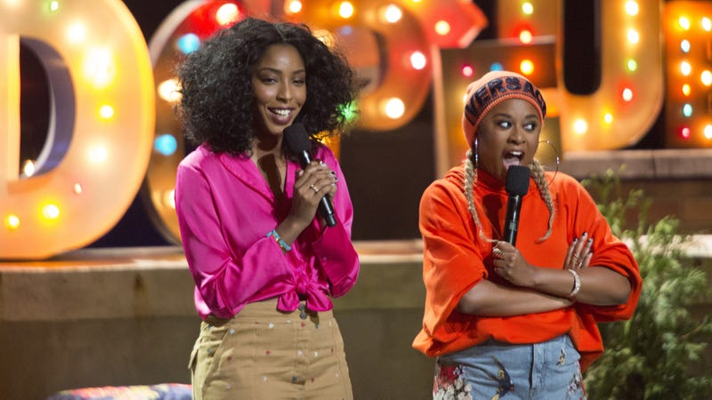 Jessica Williams and Phoebe Robinson are 2 Dope Queens (Photo: HBO)
