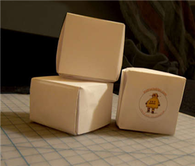 Illustration for article titled How to fold a paper gift box