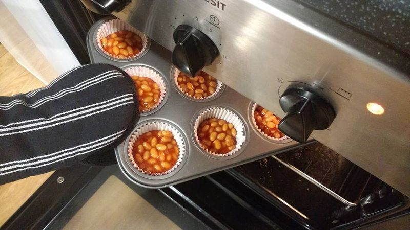 Photo: Things full of beans that shouldn't be full of beans