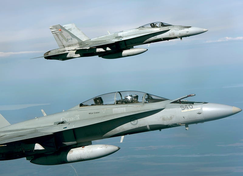 Illustration for article titled Canada finally looking at new jets to replace CF-18, not browse Craigslist for old ones