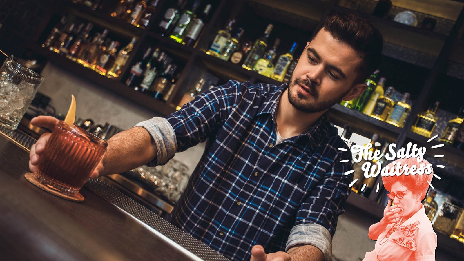 """Ask The Salty Waitress: Who really pays when a bartender """"buys"""" a drink?"""
